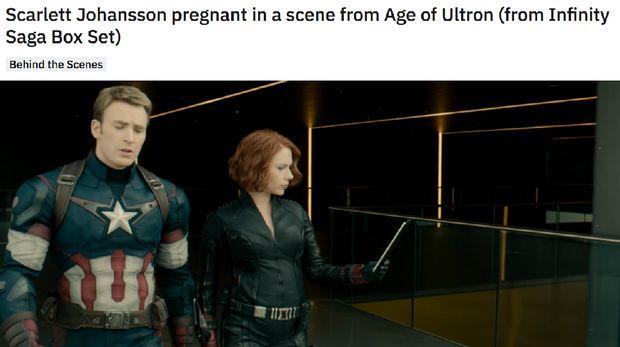 Perkasa! Black Widow Lawan Ultron saat Hamil