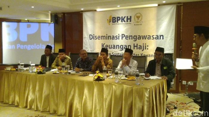 diseminasi pengawasan keuangan haji 2020 di Semarang, Senin (3/2/2020)