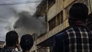 Video Ruko di Tanah Abang Terbakar, 11 Unit Damkar Dikerahkan