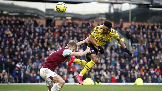 Arsenal ditahan imbang Burnley 0-0, akhir pekan lalu.