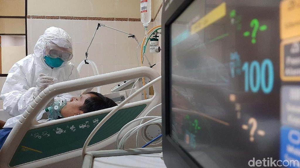 Potret Simulasi Penanganan Pasien Virus Corona di Banyumas