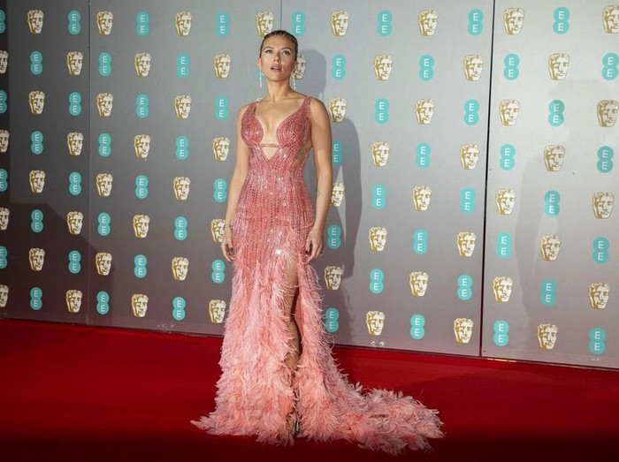 Actress Rooney Mara poses for photographers upon arrival at the Bafta Film Awards, in central London, Sunday, Feb. 2 2020. (Photo by Vianney Le Caer/Invision/AP)