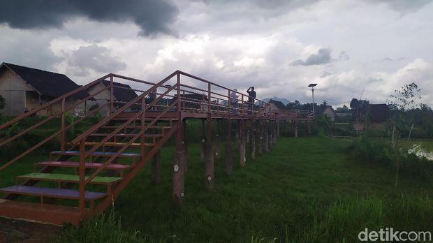 Yuk, Main di Sawah Instagrammable Cianjur
