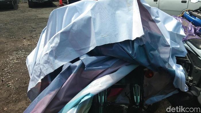 Angga Riza-detikcom/motor gede Harley-Davidson yang menabrak siswa SD di Jl By Pass Ngurah Rai, Bali.