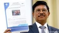 Menkominfo Ingatkan Sanksi Tegas Penyebar Hoax Virus Corona