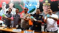 Polisi Ungkap Penyelundupan Sabu Cair di Bola Mainan