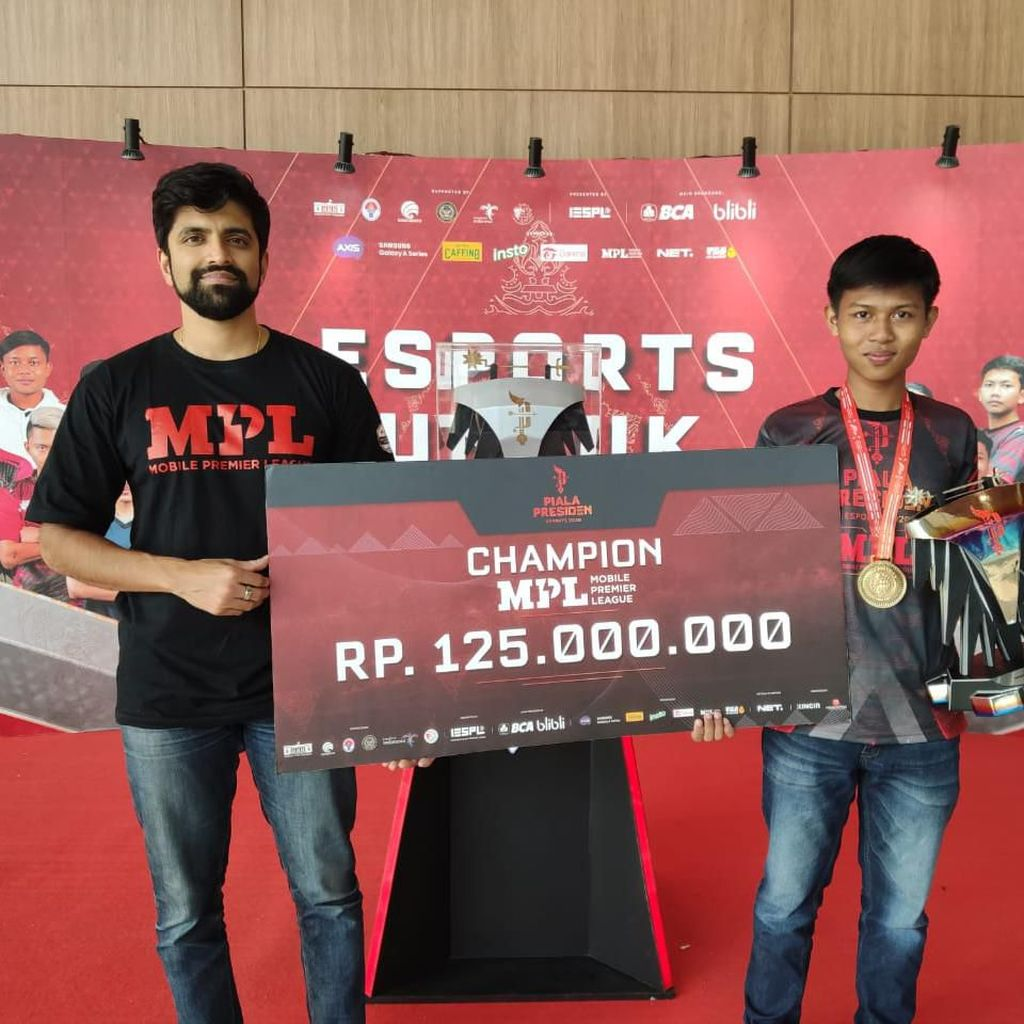 Juara MPL Piala Presiden Esports 2020 Diganjar Rp 125 Juta