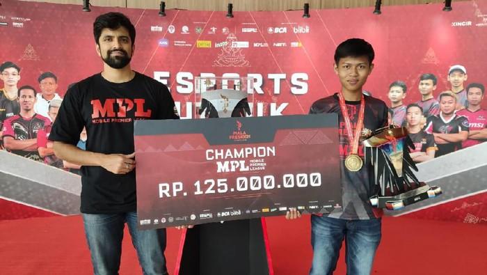 Juara MPL Piala President Esports 2020, Aby Ramadhan dari Rawamangun, Jakarta
