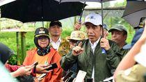 Canda Jokowi: Tanam Vetiver, Bukan Vety Vera Ya