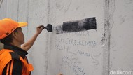 Polisi Amankan 4 Pelajar yang Viral Coret Underpass Tanah Abang