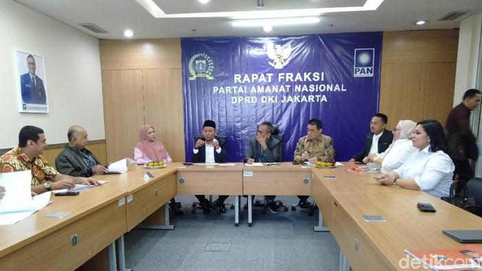 Ahmad Riza Patria keliling fraksi di DPRD DKI Jakarta cari dukungan menjadi Wagub DKI (Arief Ikhsanudin/detikcom)