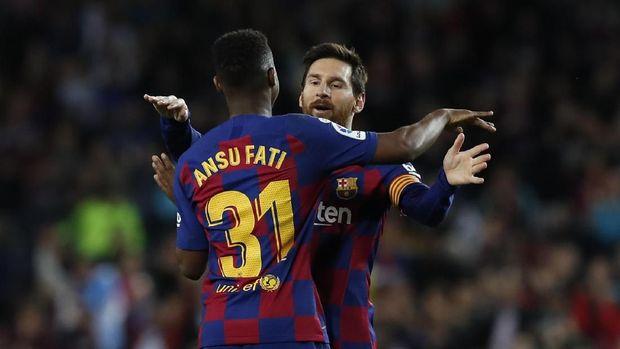 Barcelona hanya menang tipis atas Levante.