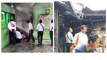 3 Sekolah di Kalsel Diteror, 6 Ruang Kelas Terbakar