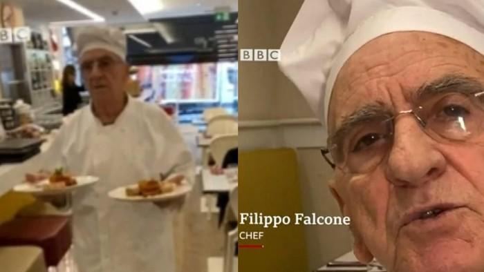 chef restoran berusia 81 tahun