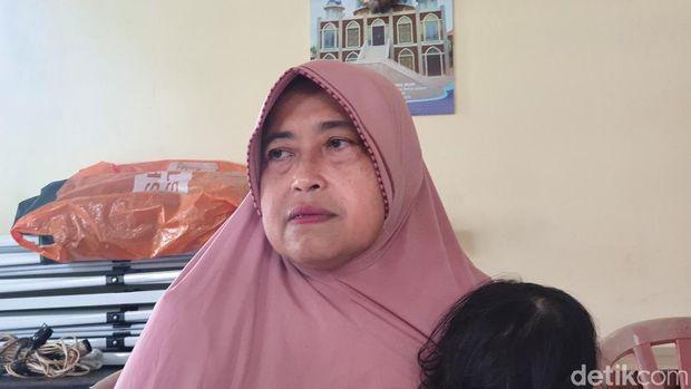 Harti Ningsih, salah satu korban hipnotis di Bekasi