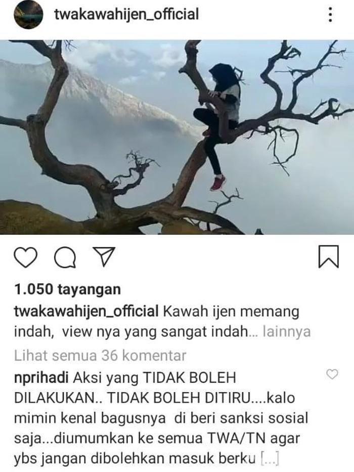 Foto: Tangkapan layar Instagram