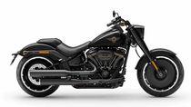 Gemes! Edisi Khusus Harley-Davidson Fat Boy Berkelir Hitam