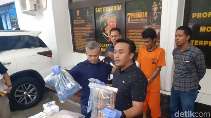 Juru parkir di Bandung mencekik wanita PSK hingga tewas. (Yudha Maulana/detikcom)