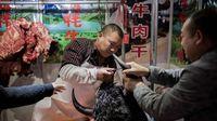 Dilanda Virus Corona, Beberapa Pasar di China Masih Jual Daging Hewan Liar