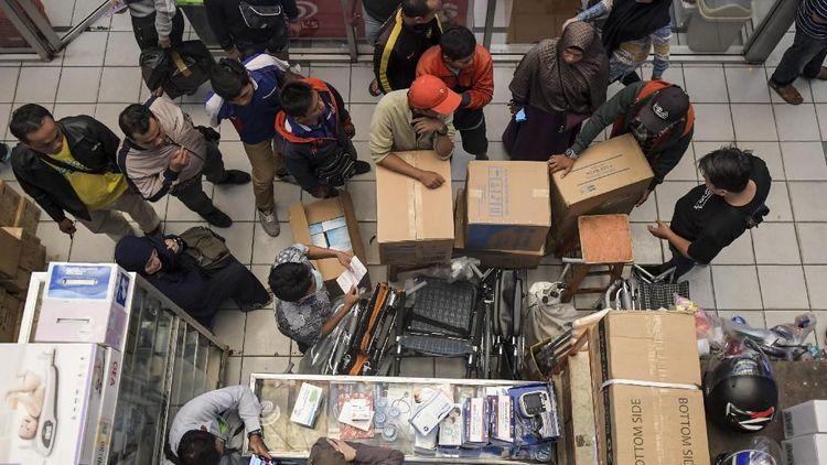 Penjualan Masker di Jakarta juga Ikut Meningkat