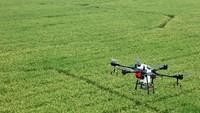 Drone Patroli Virus Corona di China