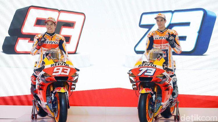 Ini Tim Repsol Honda Abang Adek ala Marquez Bersaudara