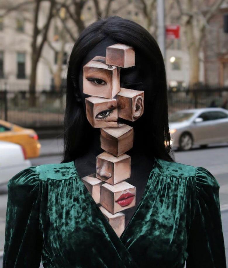makeup ilusi optik