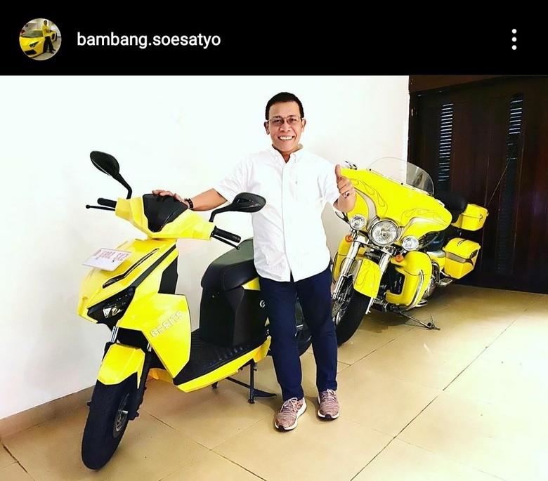 Motor Gesits Bambang Soesatyo