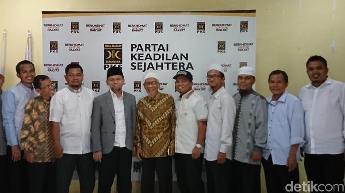Ahmad Arfah Lubis-detikcom/ GNPF Sumut bertemu PKS Medan