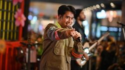 Momen Vidi Aldiano dan Melly Goeslaw Baikan di Konser Korean Wave