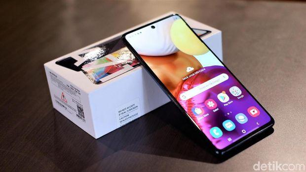 Galaxy A71S, Ponsel Trendi Performa Mumpuni