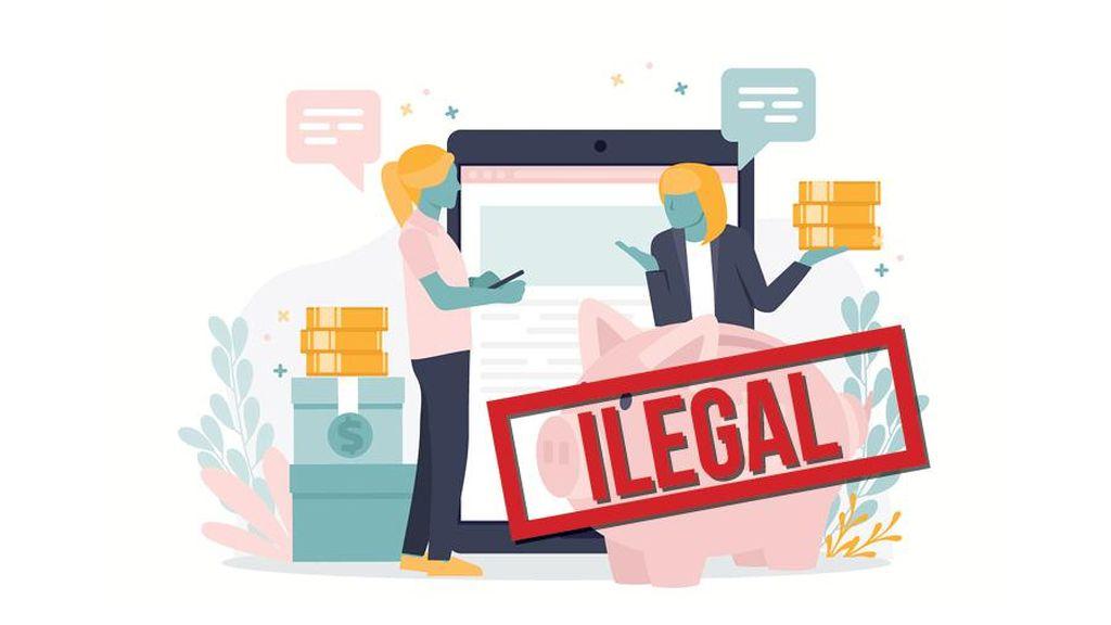 Ulah DC Pinjol Ilegal: Kirim Konten Porno, Teror Debitur hingga Bunuh Diri