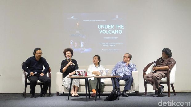 Terinspirasi Budaya Minang, Pentas 'Under the Volcano' Berlabuh di Jakarta