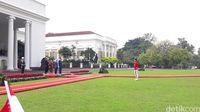 Jokowi Terima Kunjungan Presiden Singapura di Istana Bogor