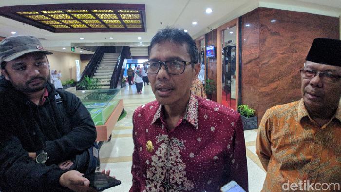 Menag Fachrul Razi hingga Gubernur Sumbar Irwan Prayitno (Jefrie Nandy Satria/detikcom)