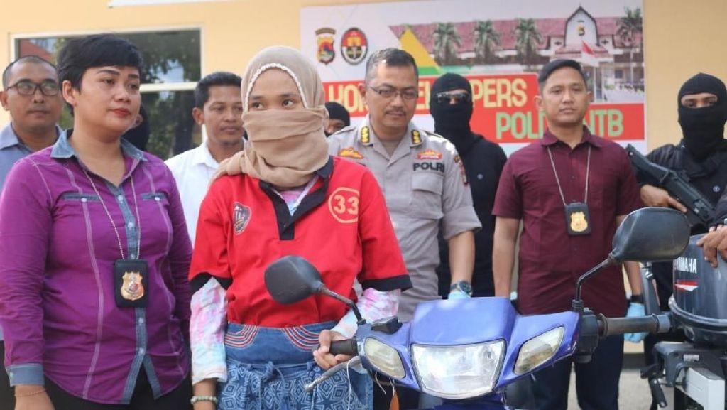 Mahasiswi Pencuri Motor di Lombok Ditangkap Polisi