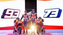 Logo Satu Hati Mejeng di Motor Honda MotoGP Musim Depan