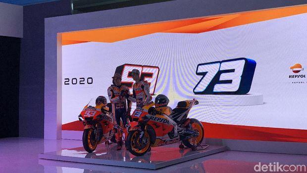 Di Jakarta Rossi Bilang 'Tresno', Marquez Sebut 'Apa Kabar'