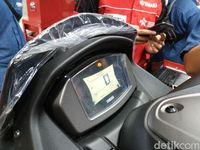 Engine Check All New Nmax Nyala, Yamaha Sebut Masalah Kecil