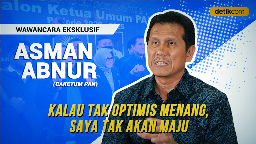 Keyakinan Asman Abnur Menatap Kursi Ketua Umum PAN