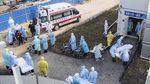 Pasien Virus Corona Mulai Dipindahkan ke RS Khusus di Wuhan