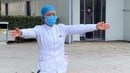 Video Viral Perawat Tak Bisa Peluk Anaknya karena Virus Corona Bikin Nangis