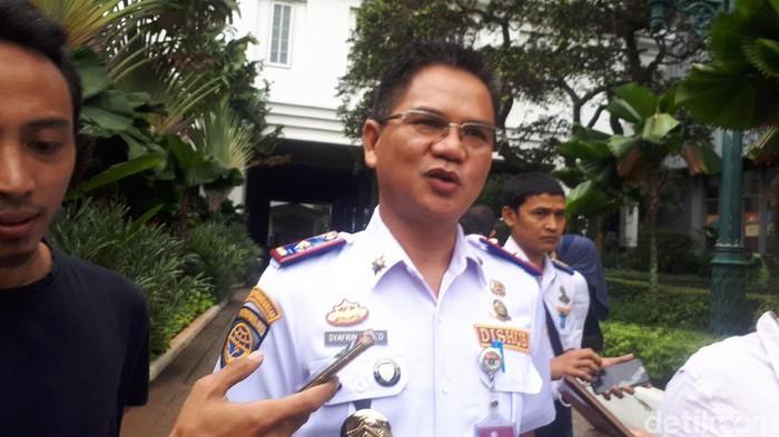 Kadishub DKI Jakarta Syafrin Liputo (Dwi Andayani/detikcom)