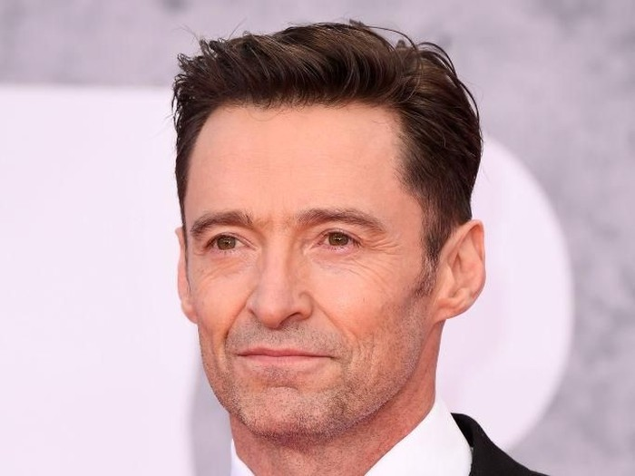 LONDON, ENGLAND - FEBRUARY 20: (EDITORIAL USE ONLY) Hugh Jackman attends The BRIT Awards 2019 held at The O2 Arena on February 20, 2019 in London, England. (Photo by Jeff Spicer/Getty Images)