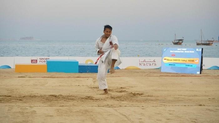 karateka Indonesia Ahmad Zaresta