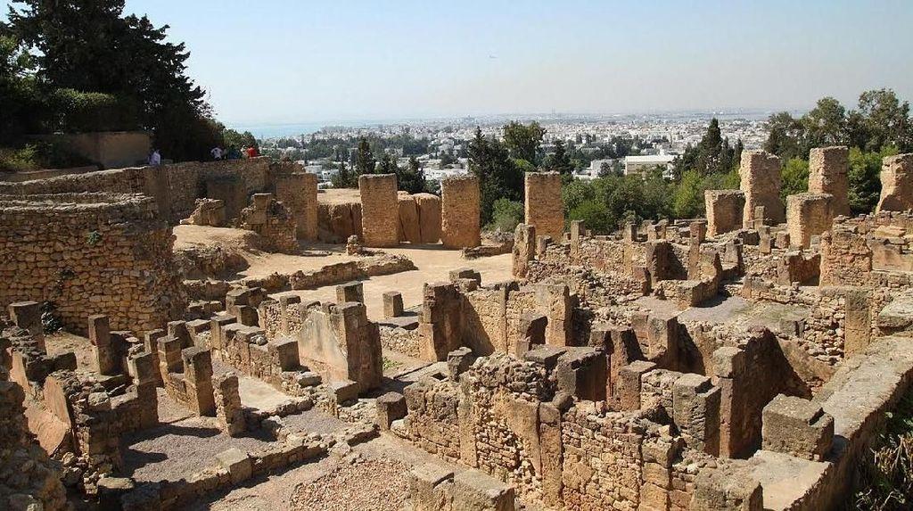 Perseteruan 20 Abad Roma vs Kartago Berakhir di Tunisia Modern