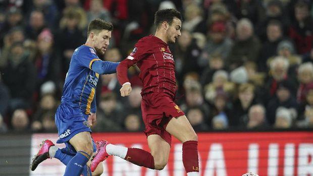 Pemain muda Liverpool tampil apik di Piala FA.