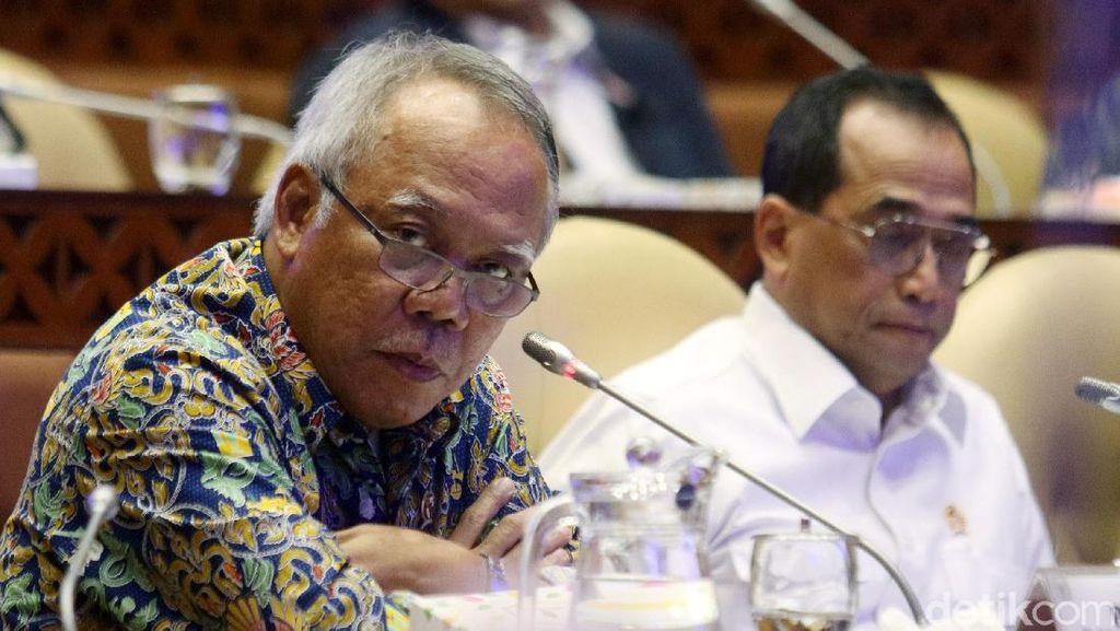 Basuki hingga Budi Karya Rapat Bareng DPR, Bahas Anggaran Corona