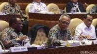 Rapat dijadwalkan mulai pukul 10.00 WIB. Namun, rapat baru dibuka sekitar pukul 10.45 WIB yang dipimpin Ketua Komisi V DPR RI Lasarus.