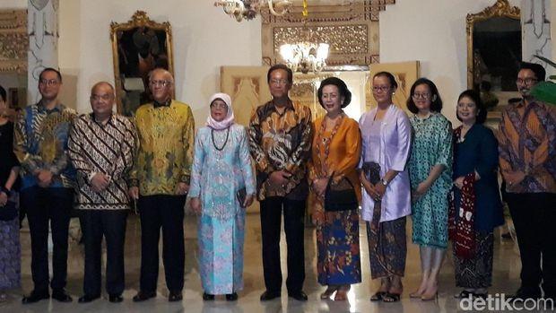 GKR Mangkubumi: Presiden Singapura Halimah Senang dengan Budaya Yogya
